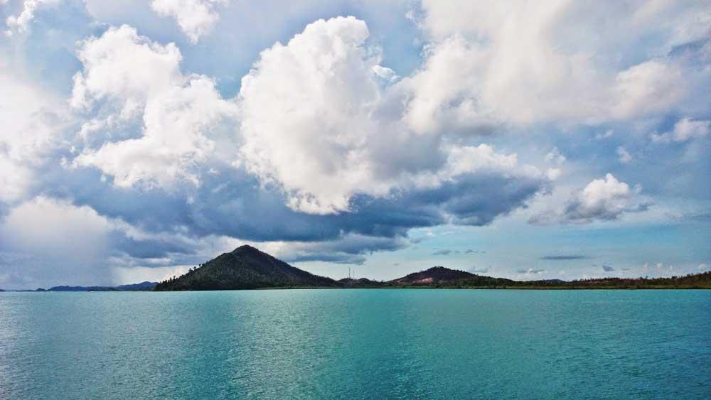 Galang Baru from Labun Island