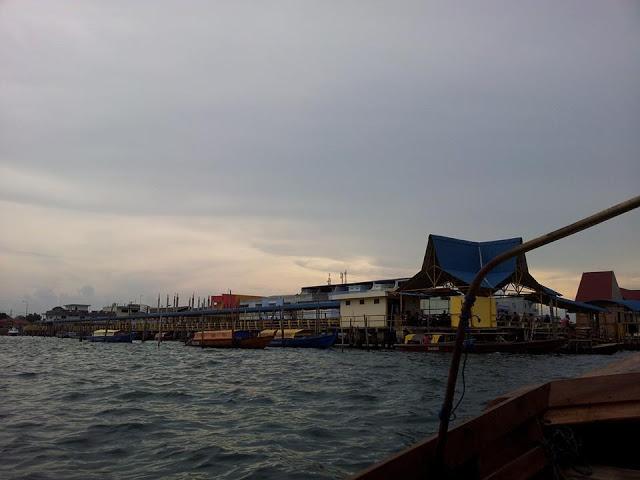 Pulau Sambu Batam entrance