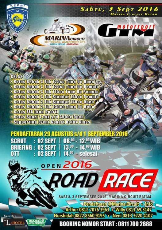 Open Road Race 2016 Batam
