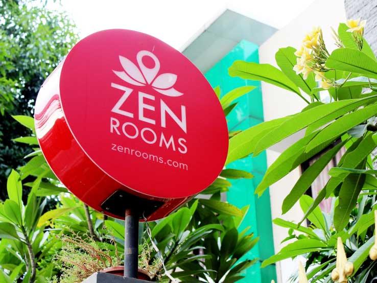 Zen Rooms sign - Picture by techcrunch