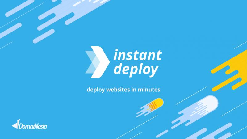 Domainesia Instant Deploy