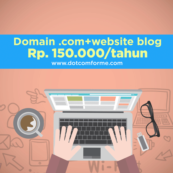 promo domain dotcomforme