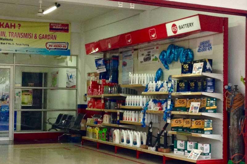 Shop and Drive Mahkota langganan