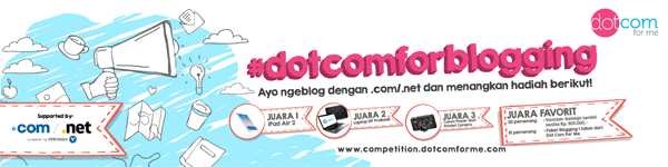 dotcomforme blog competition 02 - Keunggulan menggunakan top domain level .net/.com