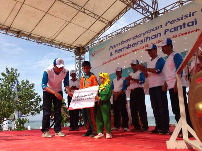Bantuan CSR kepada 59 anak yatim