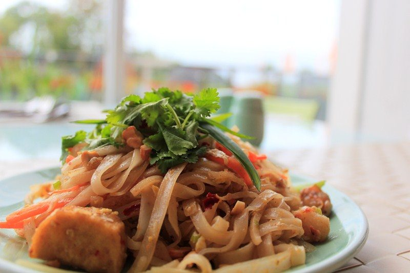 Mie Pad Thai 2 ala Harris Cafe