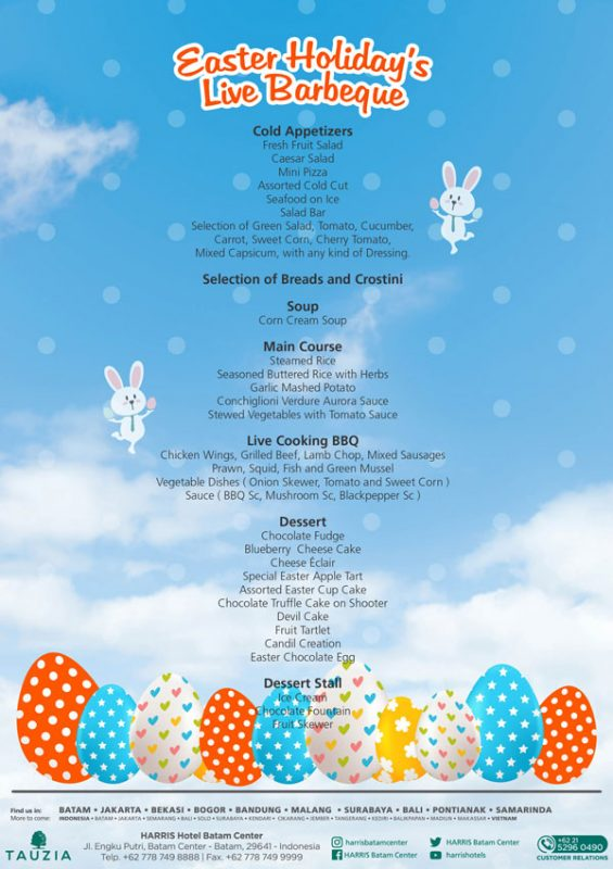 Easter Holiday Live Barbeque