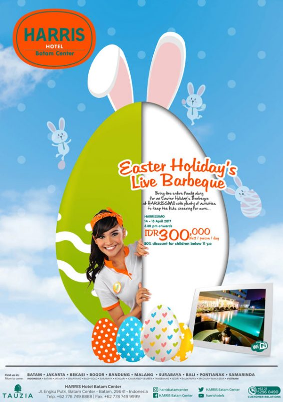Easter Holiday Live Barbeque Harris Hotel Batam Center