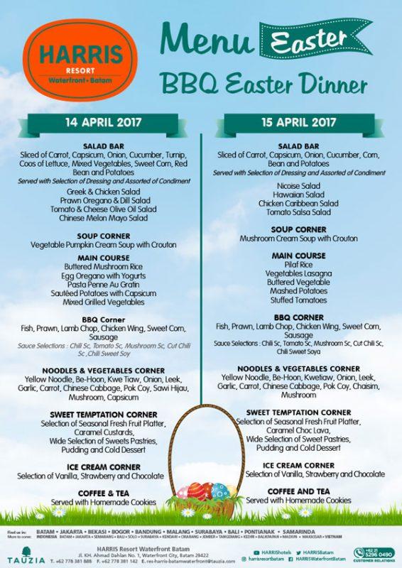 Harris Resort Waterfront Batam BBQ Easter Dinner