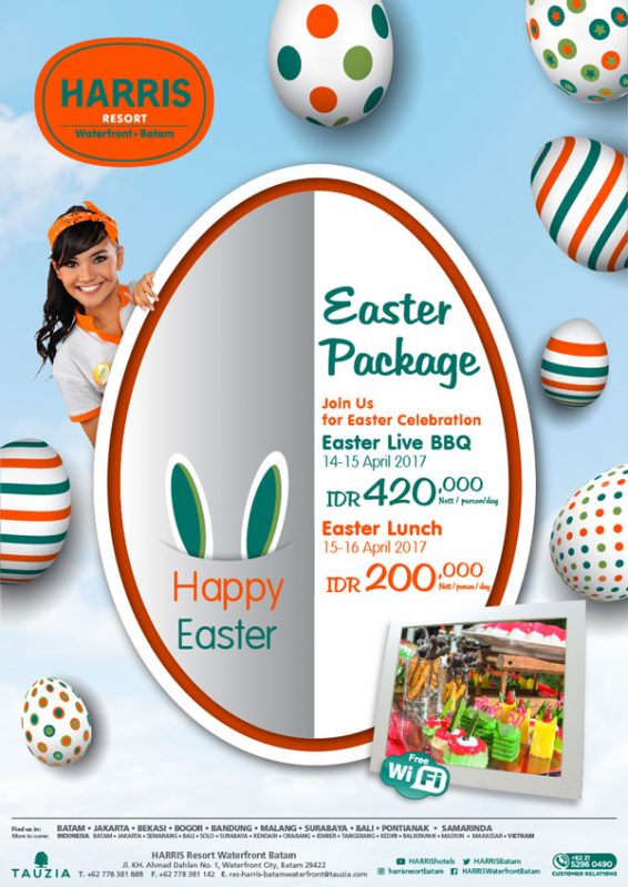 Harris Resort Waterfront Batam Easter Package