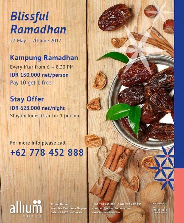Paket Buka Puasa Ramadan Kampung Betawi Allium Hotel