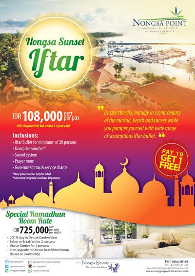 Paket Promo Ramadhan Nongsa Point Marina Batam