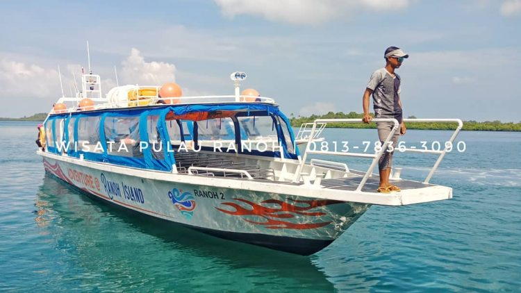 Adventure Ranoh Island speedboat