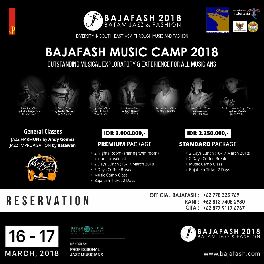 Bajafash 2018 Music Camp