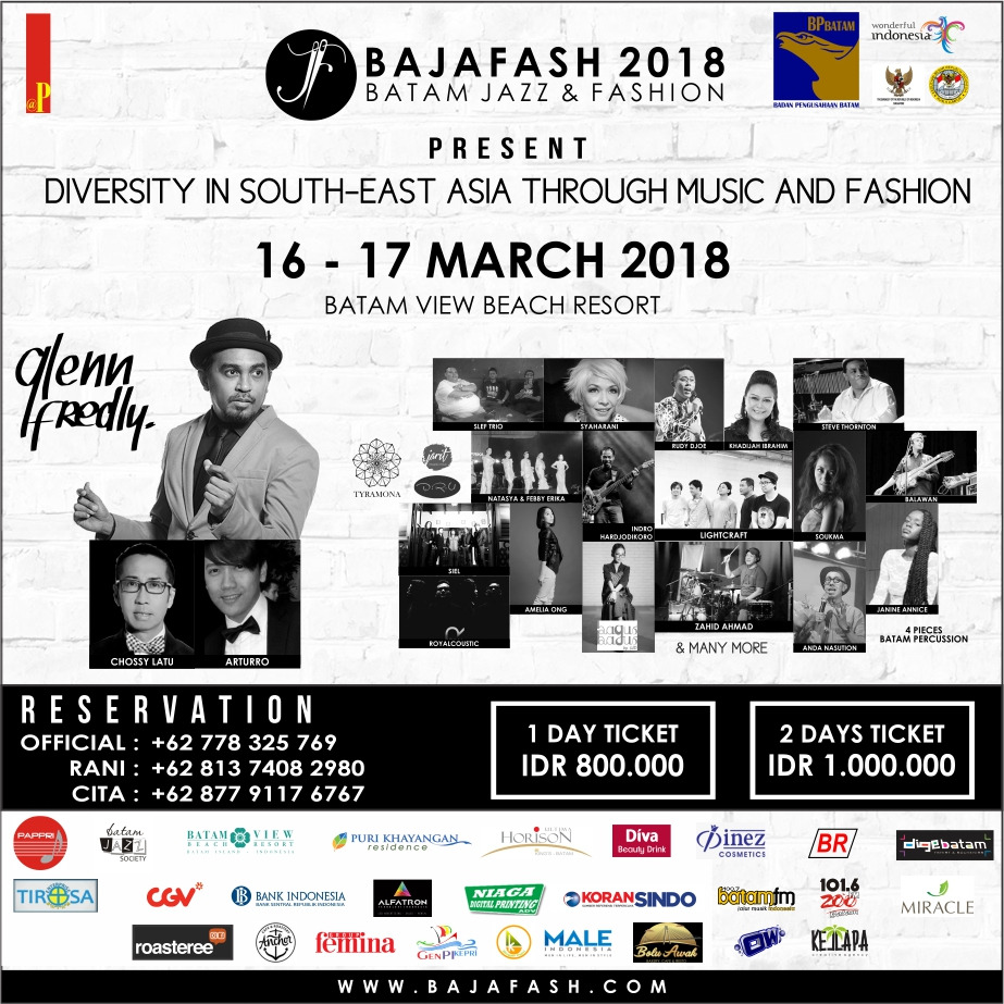 Bajafash 2018 with Glenn Fredly