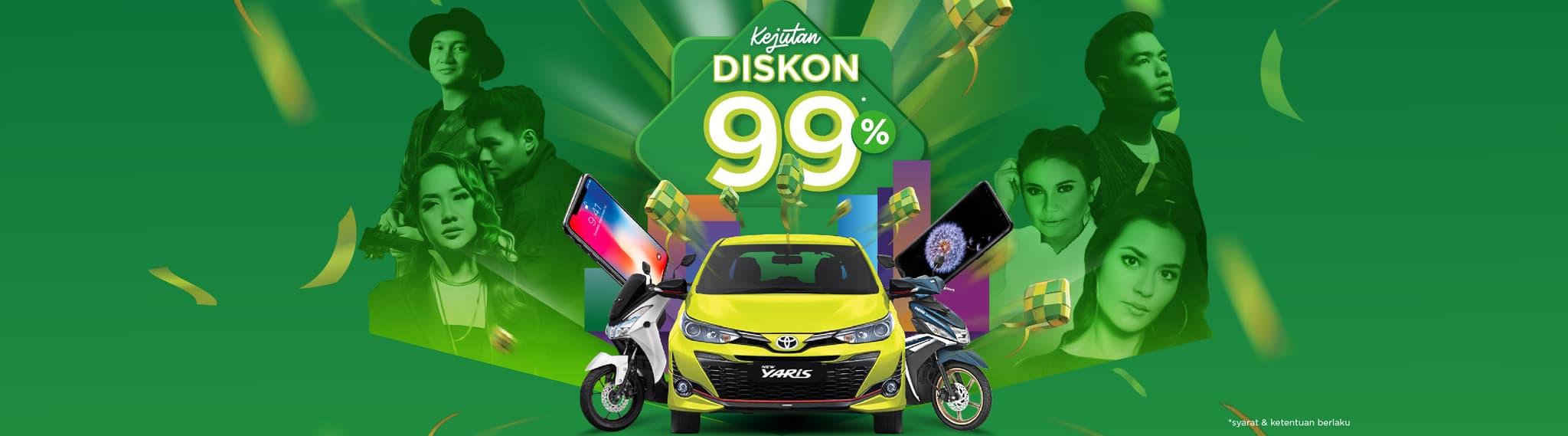 Ramadan Ekstra Tokopedia diskon 99%