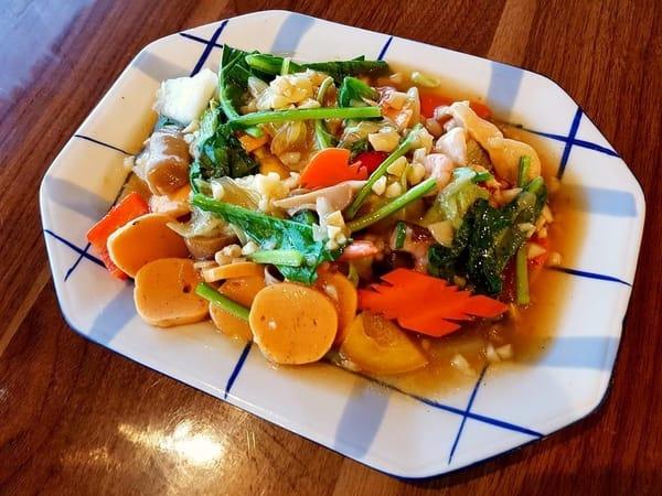 Capcay ala Restoran Seafood Kopak Jaya 007