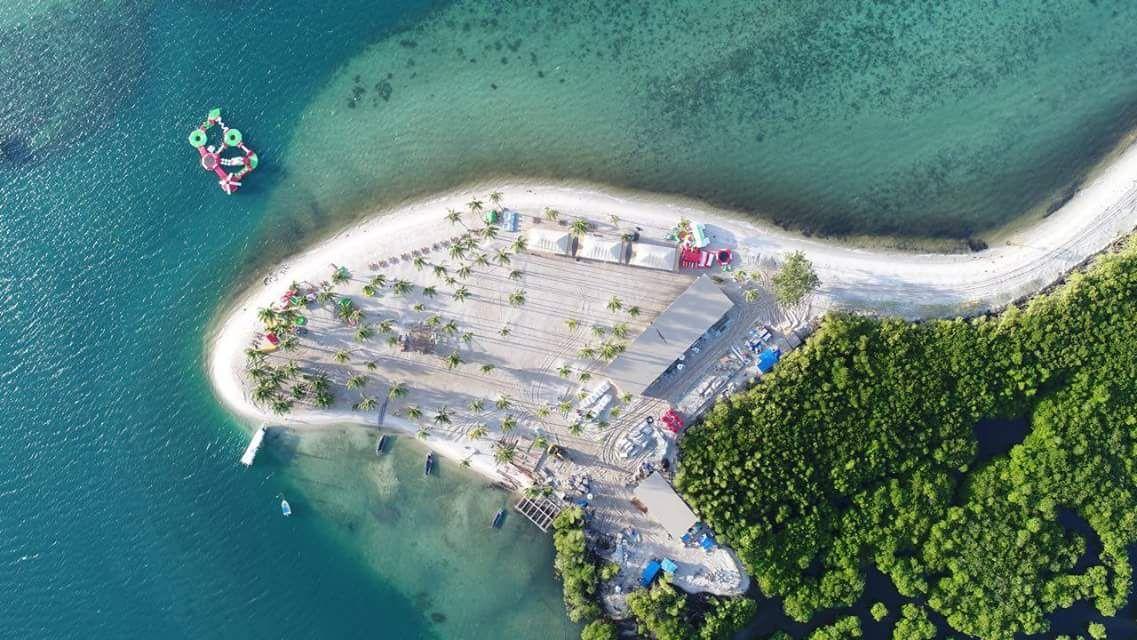 Pulau Ranoh dari udara