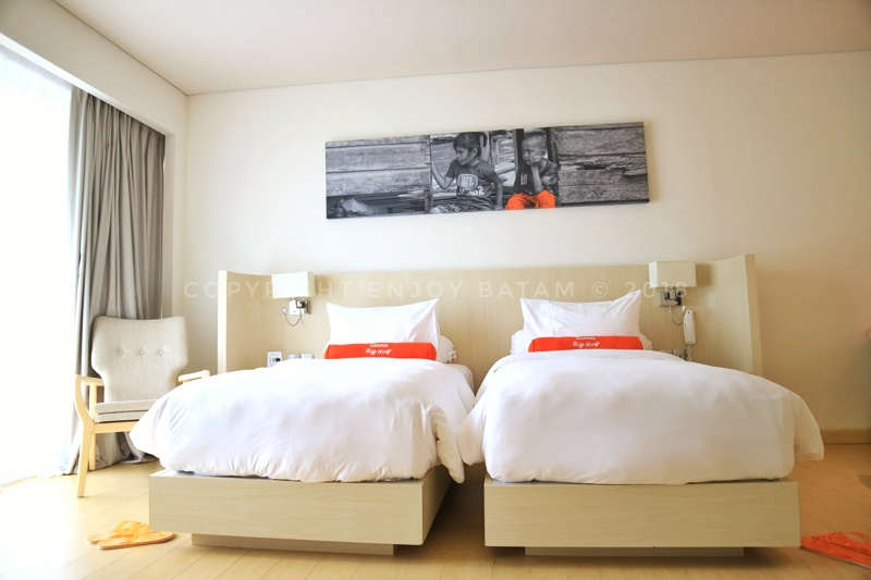 Double bed HARRIS Resort Barelang