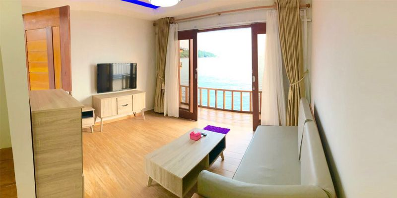 SBS Resort Villa Living Room