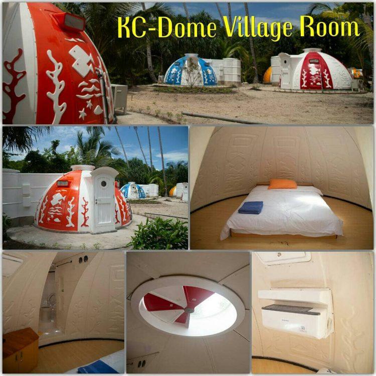 Kamar di Dome Village Kepri Coral