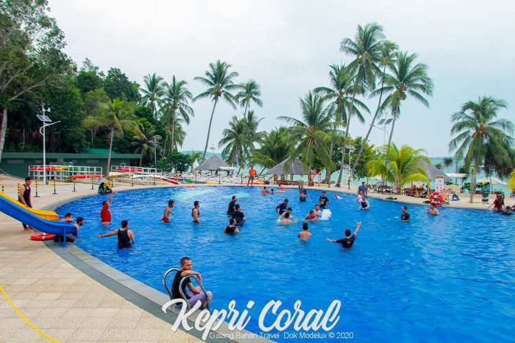 Kepri Coral Island Swimming Pool