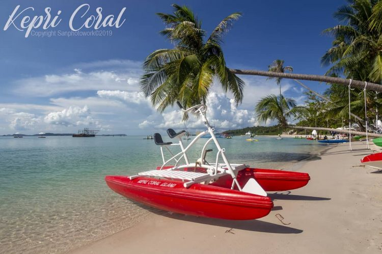 Kepri Coral Island Water Bike