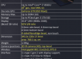 Spesifikasi ZenBook 15